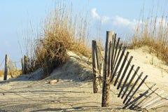 Frontière de sécurité en dunes Images stock