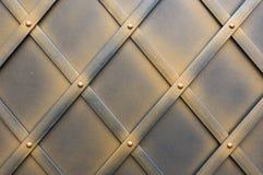 Frontière de sécurité en métal Image stock