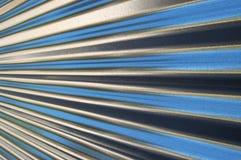 Frontière de sécurité en métal Photos stock