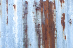 Frontière de sécurité grunge en métal Image stock