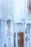 Frontière de sécurité grunge en métal Photographie stock libre de droits