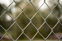 Frontière de sécurité jointe par réseau images stock
