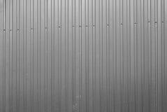 Frontière de sécurité métallique Photo stock