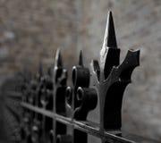 Frontière de sécurité pointue Photographie stock libre de droits