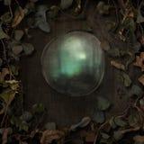 Frontière de vignes de conte de fées d'imagination avec la bulle illustration stock