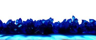 Frontière en cristal Photo libre de droits