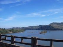 Frontière entre les états, dans les sud du Brésil photos stock