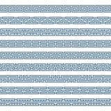 Frontière grecque de modèle illustration de vecteur