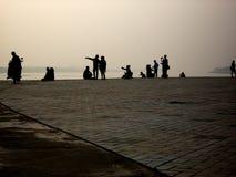 Frontière Laotien-thaïlandaise, Vientiane Photos libres de droits