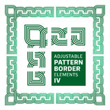 Frontière réglable avec des éléments IV Image libre de droits