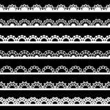Frontière sans couture de dentelle Image stock