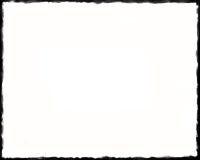 frontière 8 x10 noire et blanche unique Photo stock