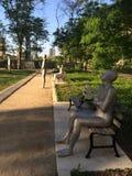 Frontières dans le jardin Chicago de Solti Image stock