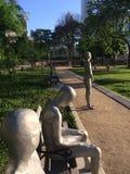 Frontières dans le jardin Chicago de Solti Photographie stock libre de droits