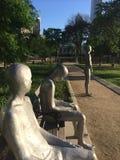 Frontières dans le jardin Chicago de Solti Images libres de droits