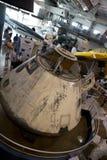 Frontières de musée de vol à l'intérieur de vue Photo libre de droits
