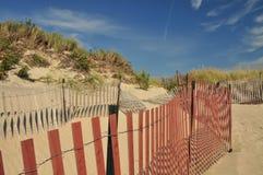 Frontières de sécurité de dune Photo libre de droits