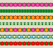 Frontières florales Image libre de droits