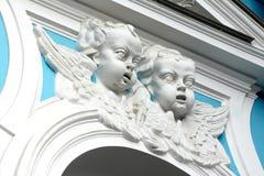 Fronti dei Cupids. Immagine Stock