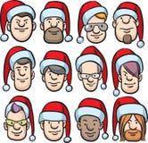 Fronti del fumetto in cappello della Santa illustrazione vettoriale