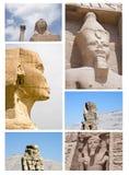 Fronti dell'Egitto Immagini Stock Libere da Diritti