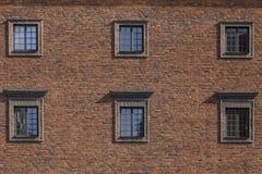 Fronti delle costruzioni nella città Svezia di Stoccolma Fotografia Stock Libera da Diritti