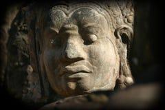 Fronti di Angkor Thom immagini stock