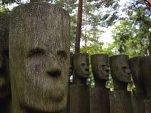 Fronti di legno Immagini Stock