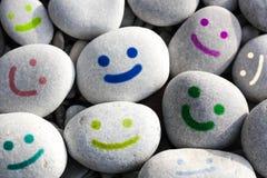 Fronti sorridenti Immagini Stock Libere da Diritti