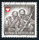 Frontier guards Austria Royalty Free Stock Photo