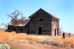 Frontier Homestead Royalty Free Stock Photo