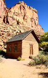 Frontier schoolhouse, Capitol Reef, Southern UT Royalty Free Stock Photos