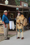 Frontier Village - Cheyenne Frontier Days Stock Photography