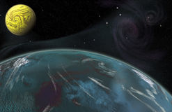 The Frontier Worlds Stock Images