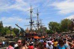 Frontierland på Disneyland royaltyfri bild