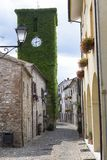 Frontino, old village in Montefeltro Marches, Italy Royalty Free Stock Photos
