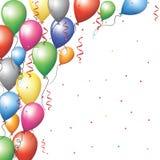 Frontière de Baloon Photos stock