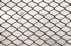 Frontière de sécurité de maillon de chaîne Image libre de droits