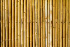 Frontière de sécurité en bambou Images libres de droits