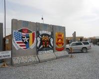 Frontlinjekant av kriga i Afghanistan Fotografering för Bildbyråer