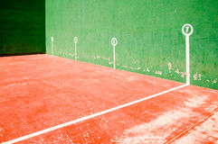 Fronton court Stock Photo