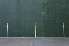 Fronton wall Stock Image