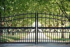 Frontowa brama Zdjęcie Royalty Free