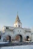 Frontowa brama, Izmaylovo nieruchomość, Moskwa, Rosja (1682) Zdjęcie Royalty Free