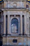 Frontowa część Riddarholm kościół Fotografia Royalty Free
