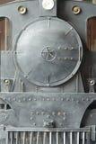 frontowa głowa stary rocznika czerni pociąg Zdjęcia Stock