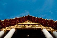 frontowa mable świątynia Zdjęcie Stock