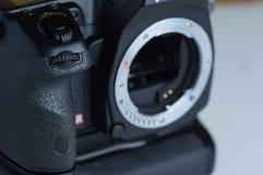 Frontowa refleksowa kamera fotografia royalty free