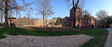 Frontowa strona Heidelberg kasztel Obrazy Royalty Free