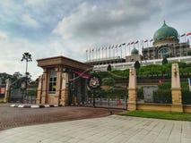 Frontowe bramy Seri Perdana, Putrajaya fotografia stock